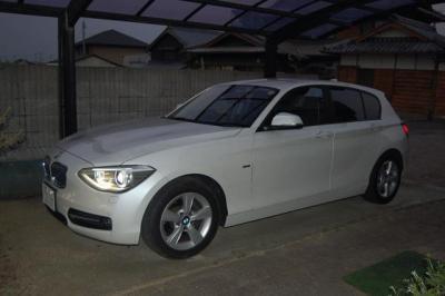 2012年BMW116スポーツ。