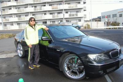2007y BMW750.